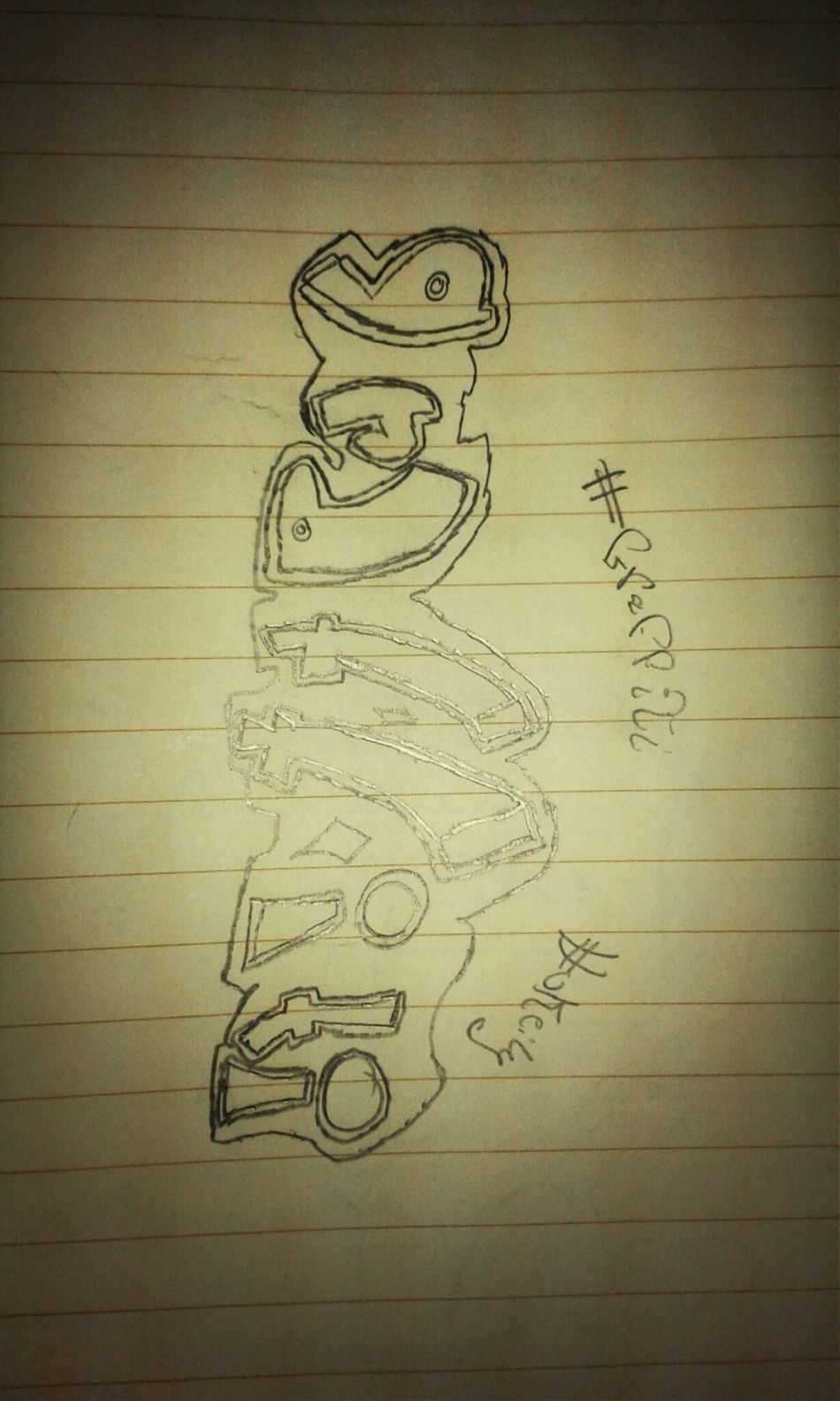 By : Me xD My Drawing