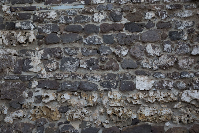 Limestone wall from historic building Rock Wall Wall Architecture Backgrounds Building Exterior Built Structure Close-up Day Full Frame Limestone Limestone Walls No People Outdoors Textured  Wall - Building Feature