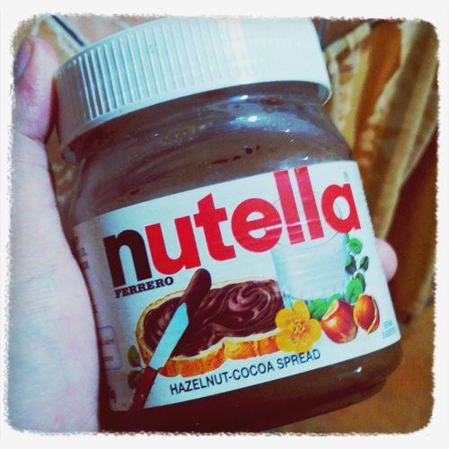 My favorite :3 Foodporn Craving :) Yhummy I Love Nutella <3