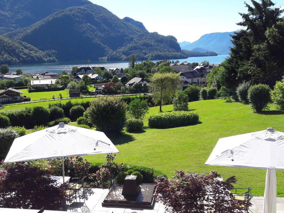 Hanging Out Relaxing Enjoying Life Austria UNESCO World Heritage Site Lake Mountain Stgilgen Hollweger Hotel