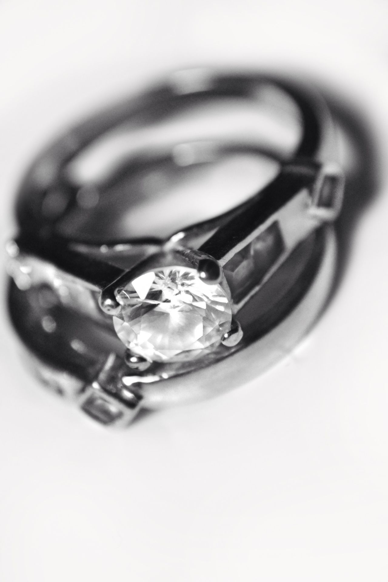 Trying my hand at some Product Photography  Wedding Rings Love