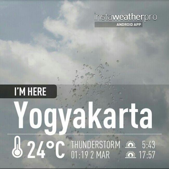 Weather Instaweather Instaweatherpro Androidonly Androidnesia Instagood Yogyakarta INDONESIA Jogja today..