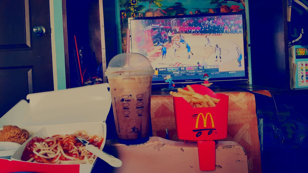 Mavs still fighting Nbaplayoffs NBA Mavs Game Sunday (: Rockets Game McDonald's Fudtrip