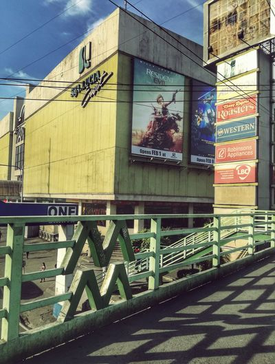 On a sunday morning. 😑 Built Structure No People Outdoors Day Text Building Exterior Mall Mmda Lines And Angles Footbridge Overpass View Architecture Staluciamall Snapseed Snapseed Editing  Snapseed_HDR Snapseed Edit First Eyeem Photo Urban Urban Geometry Firsteyeemphoto FirstEyeEmPic Firstpost  Adapted To The City Eyem Philippines The Architect - 2017 EyeEm Awards