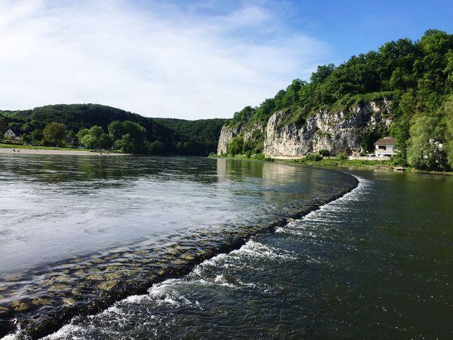 Kelheim Weltenburg Donau Steg Aussicht First Eyeem Photo
