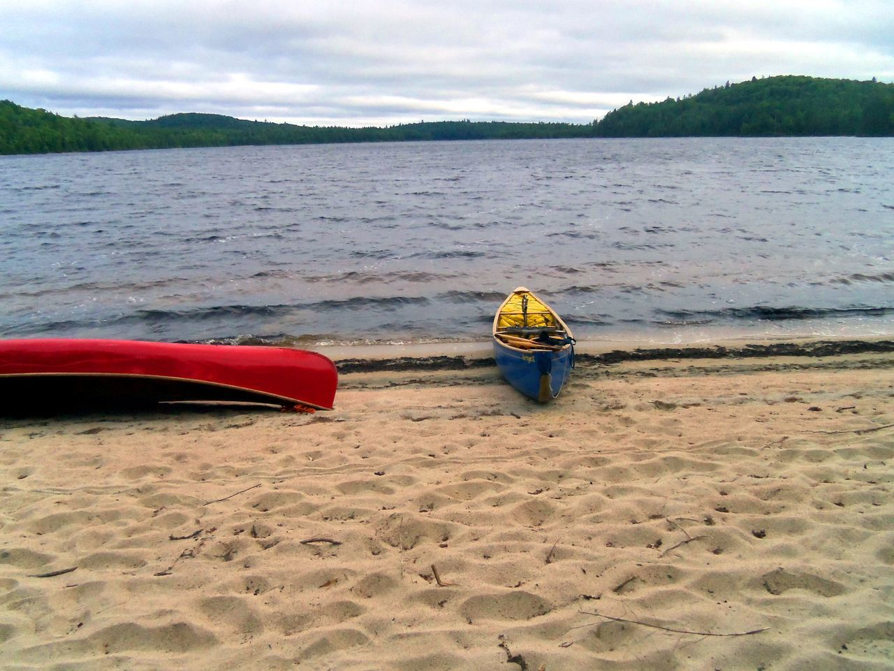 Beach Beachphotography Beauty In Nature Canoeing Trip On The New River Canoes Day Lake Landscape Nature One Person Outdoor Life Outdoors People Real People Rear View Sand Sand Dune Scenics Sea Sky Tranquility Water Wilderness Wilderness Adventure