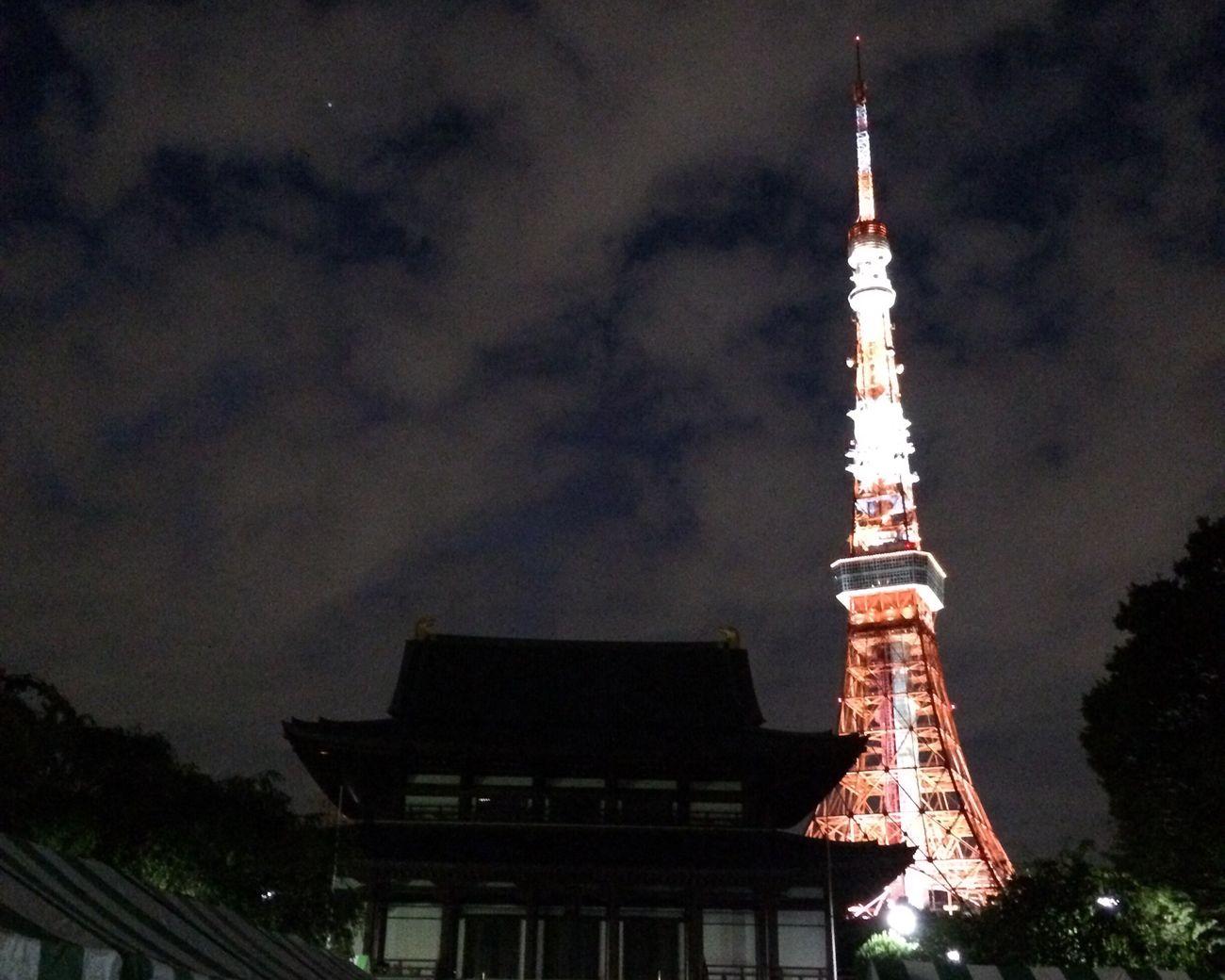 東京タワー 増上寺