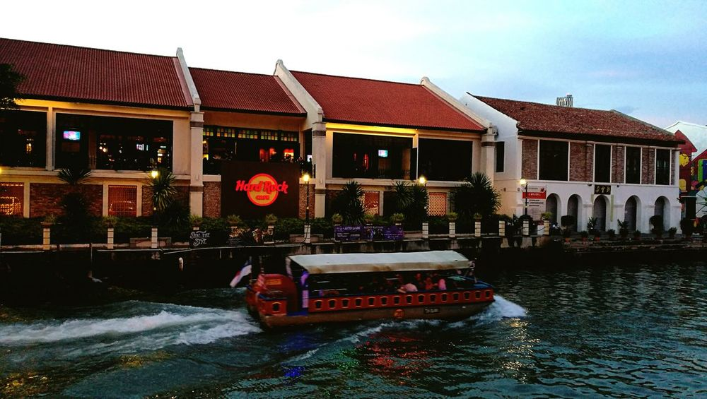 Malacca River Built Structure Outdoors Waterfront Tourist Resort Cantiknyamalaysia Eyeemphoto