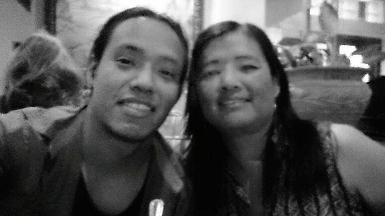 My Mom And I Enjoying Life Family Matters EyeEm Best Shots - Black + White Love Mom Beautiful Day