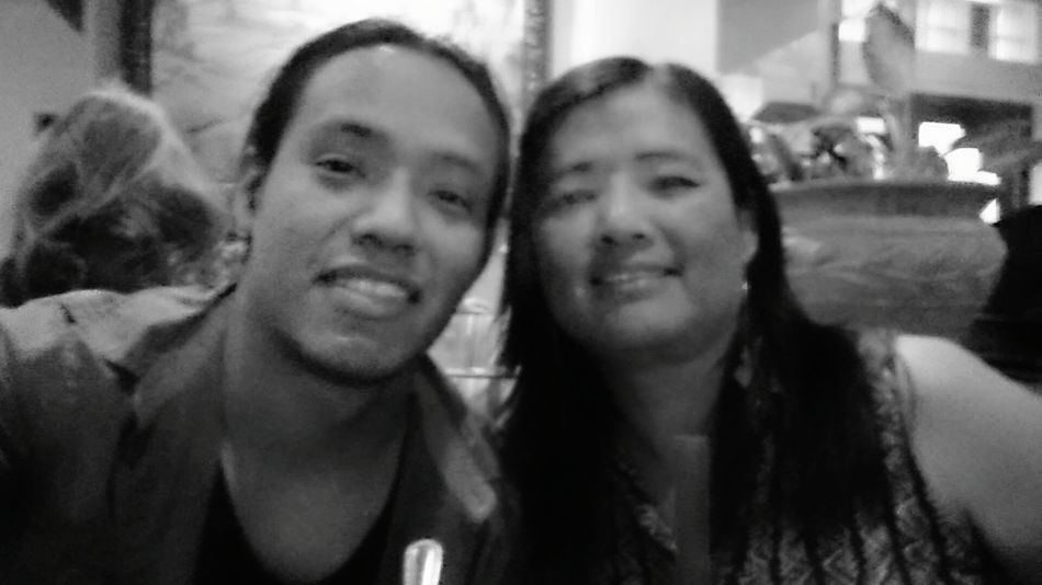 My Mom And I Enjoying Life Family Matters EyeEm Best Shots - Black + White Love Mom Beautiful Day