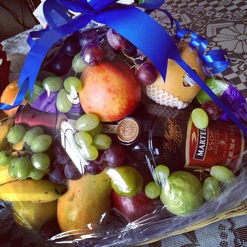 Un regalito de agradecimiento :) Martel Fruits Canasta Rectorudgvirtual udgvirtual