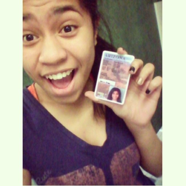 Ended 2013 by getting my permit! Brace yourselves! Selfie 2013 Permit Driver followme
