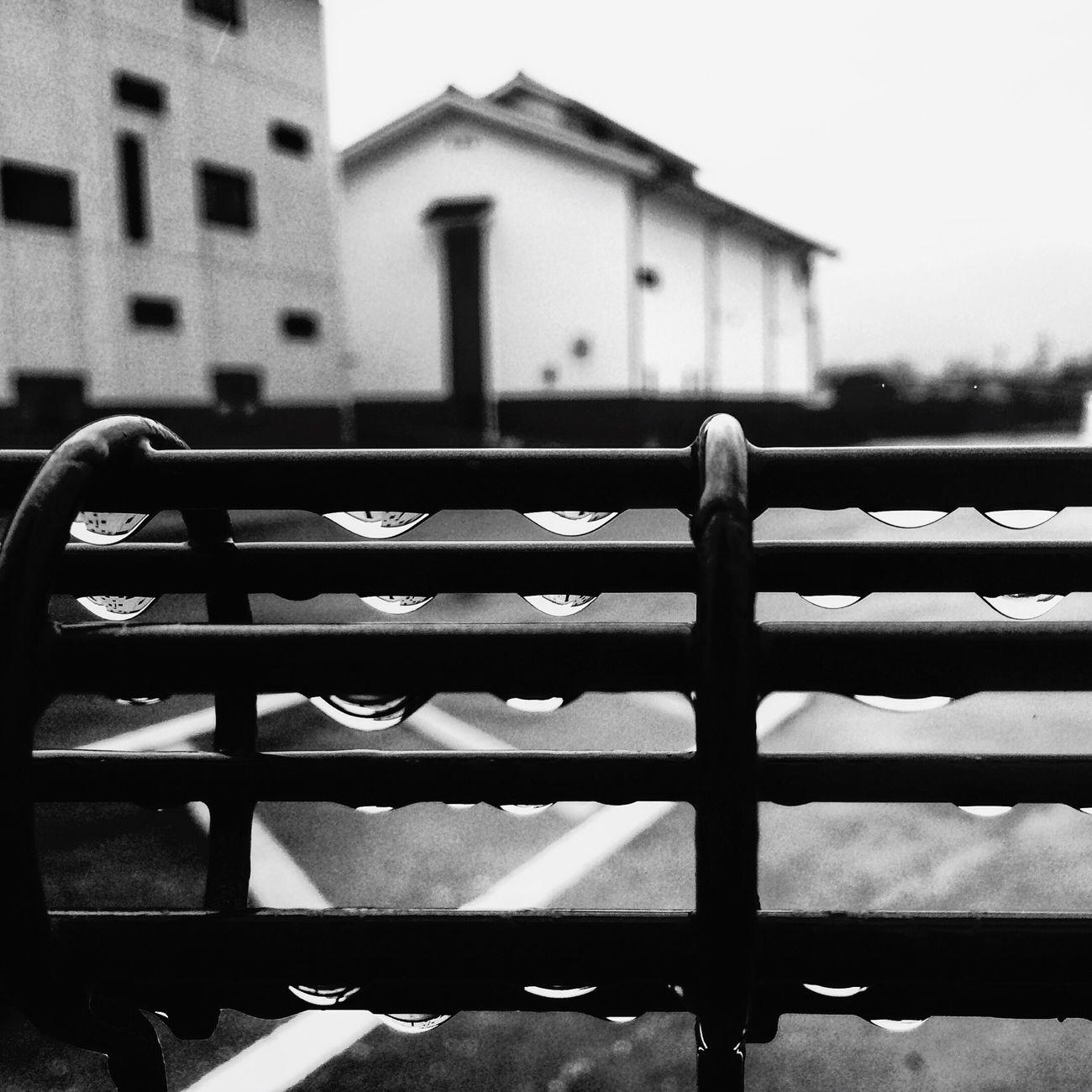 Waterdrops Black And White Rainy Day Blackandwhite