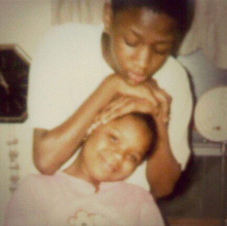 Me & My Lil Sis About 4yrs Ago, Love Her To Death