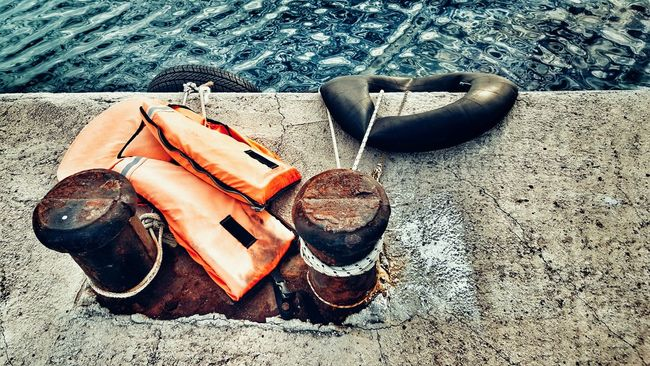StillLifePhotography Still Life Cape  Cape Point Capepoint Object Photography View From Above At The Port Port Life Lifejacket Life Jacket Grunge It Up Grunge Rotten Ropeswing  Ropes Remains Of The Day Refugee Life Saver