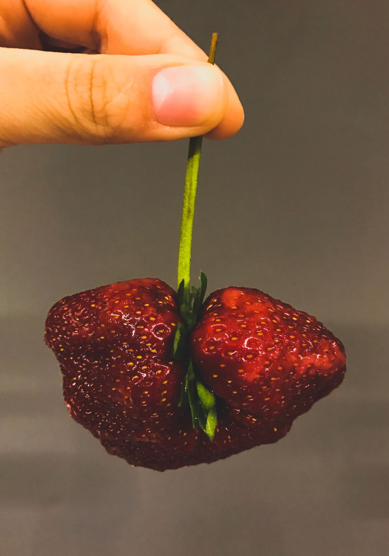 Strawberry Hormone Food Unrecognizable Nurs Fruit Human Hand Yummy