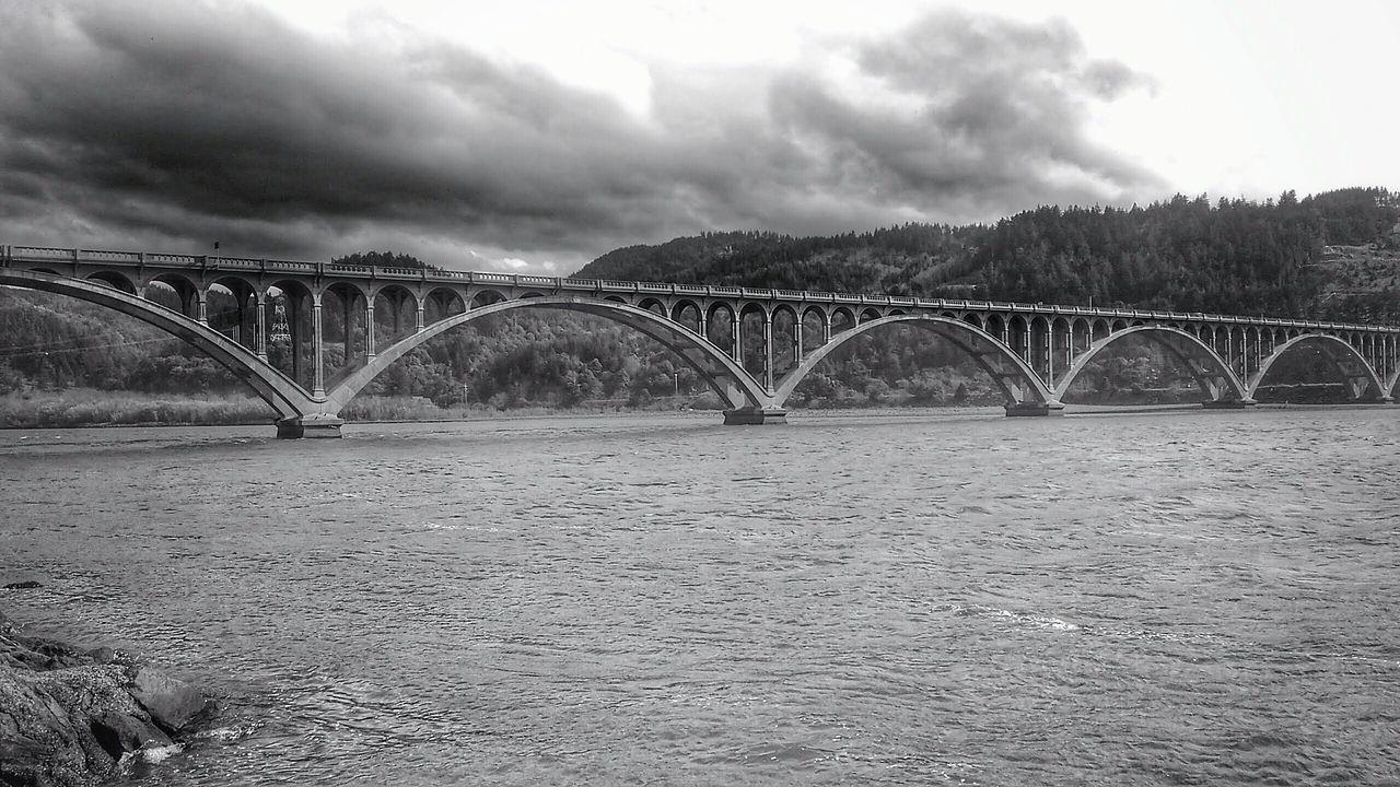 Gold Beach, Oregon Highway 101. Rogue River Bridgeporn, Bridge Collection, Bridge - Man Made Structure