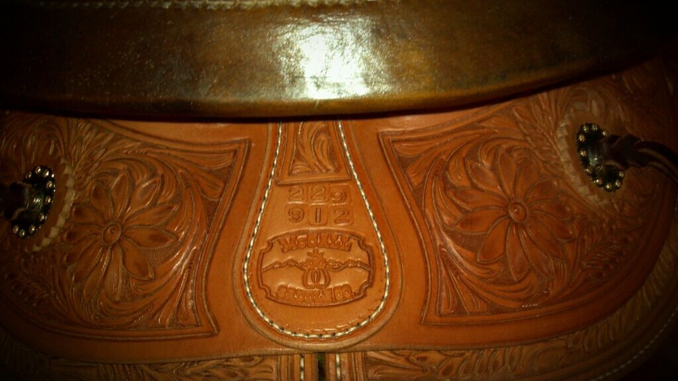 Saddle Western Leather Leather Art Macallsaddleco Made Out West Real Deal Ranch Ranch Saddle Westernsaddle Western Living