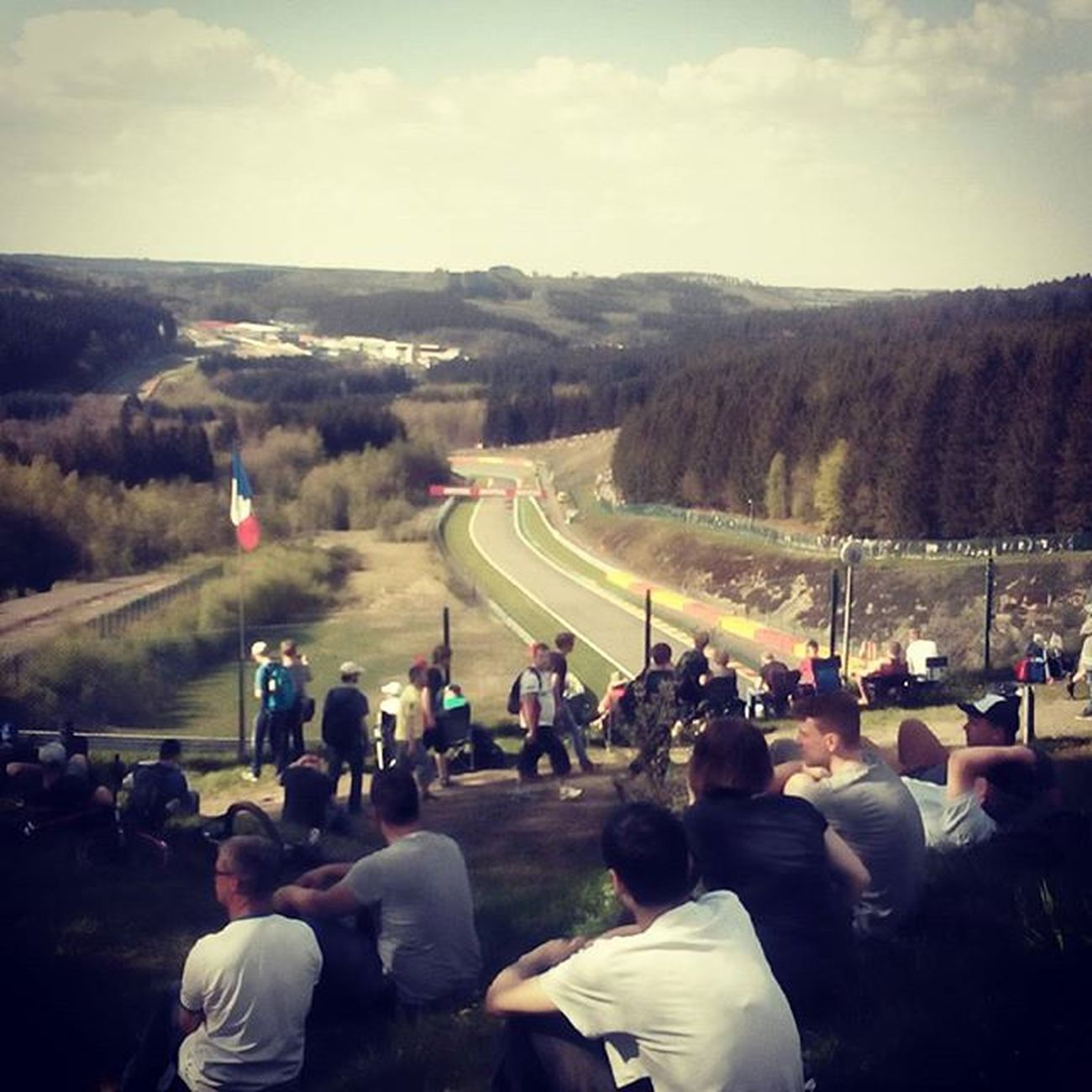 Francorchamps Spa View FIAWEC 6hours Greatday