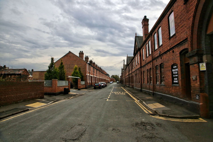 Middleport Pottery Architecture Building Exterior Built Structure City Cloud - Sky Day House Middleport Pottery No People Outdoors Pottery Residential Building Road Sky Street The Way Forward Town Transportation