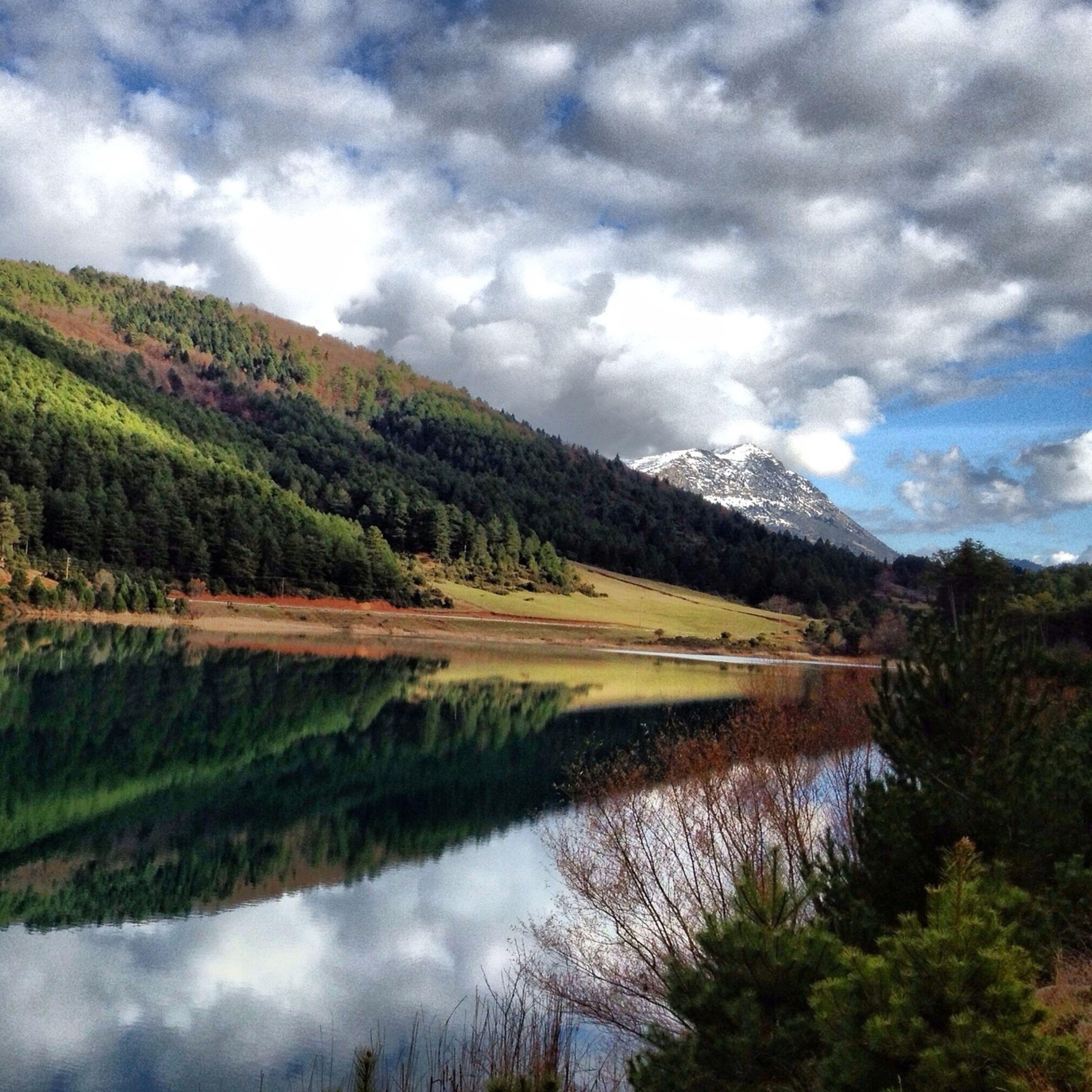Reflection Lake Landscape Nature