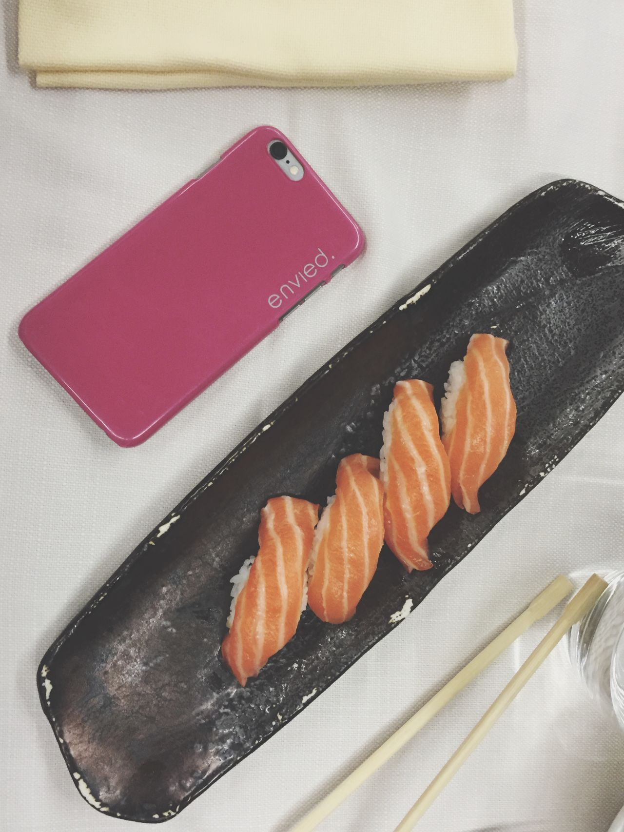 Discovering semplicity with a simple meal as sushi is. Envied Enviedcover Enviedcase Envied.it Enviedbrand Sushi Padua Simplicity Check This Out
