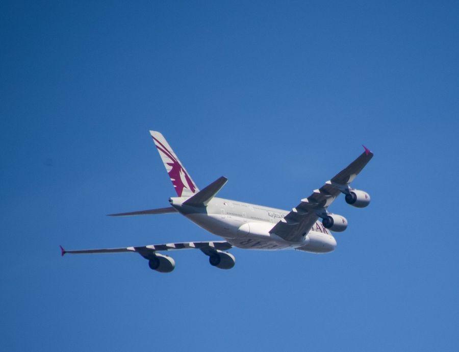 Heathrow Departure Flight Arrival Qatar Airways London LHR Plane Flight