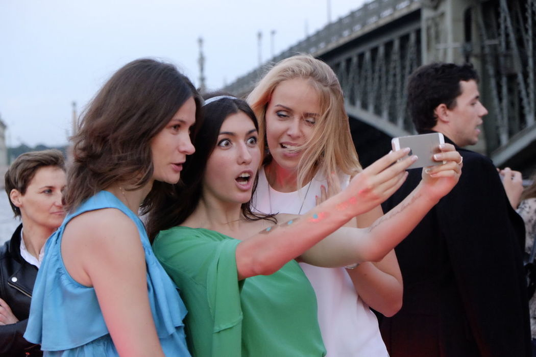 Selfie time on the Purga boat Traveling Rus2015tc Streetphotography