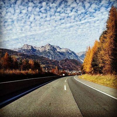 Österreich Salzburg Heimfahrt