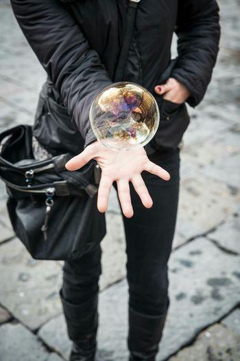 VSCO Vscocam Soap Bubbles Soap Bubble Woman Lifestyle Hand