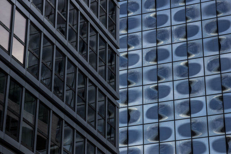 Built Structure Architecture No People Day Outdoors Art Photography Germany Building Exterior VSCO Visualmagic Two Bildings Pattern Abstract Summer Urban Art Urban Geometry Urban Artphotography Artistic Photo Architecture Hamburg Hafencity Artofvisuals Glass Glass Building