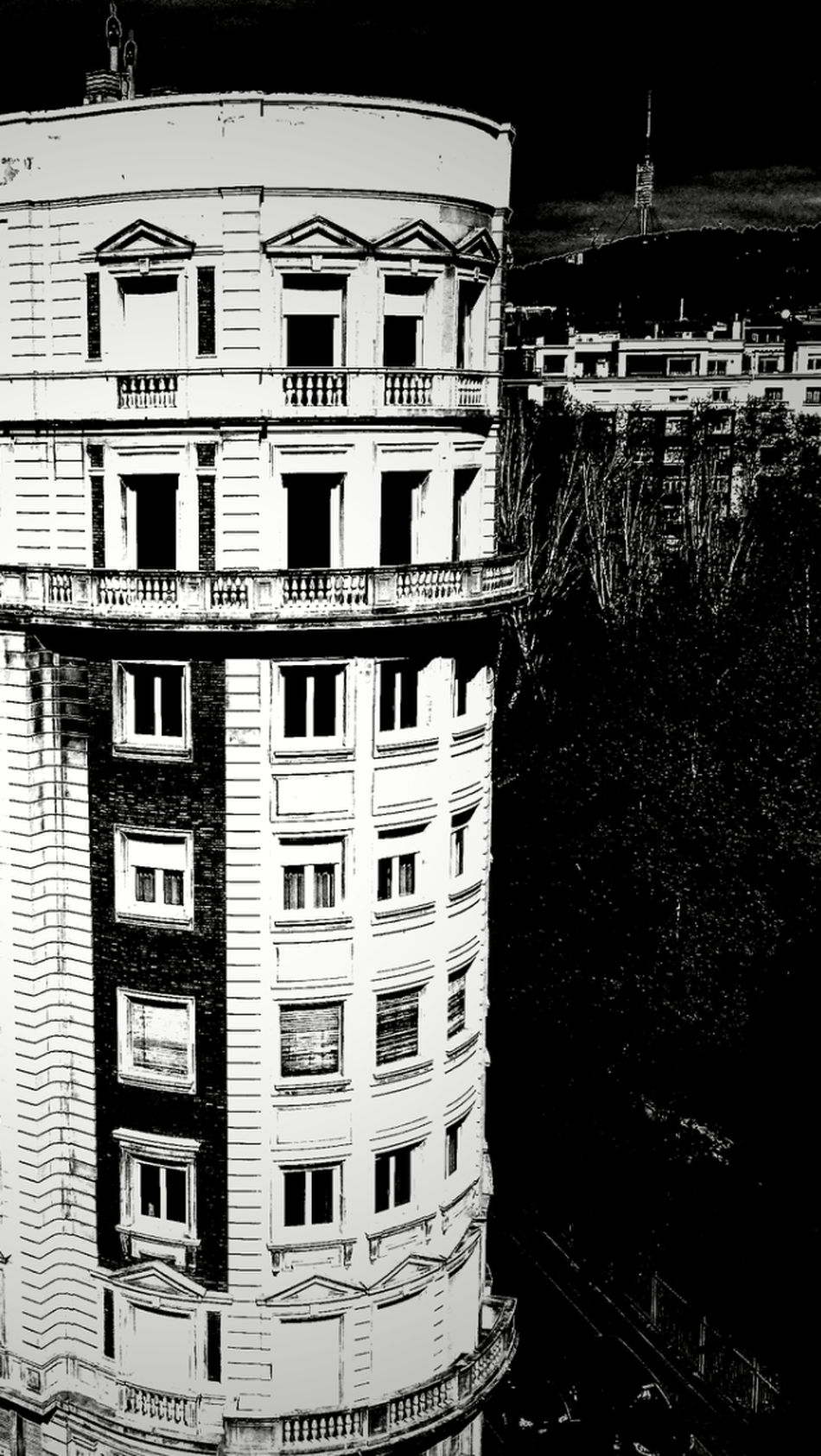 Blackandwhite Photography Architecture Barcelona Light In The Darkness
