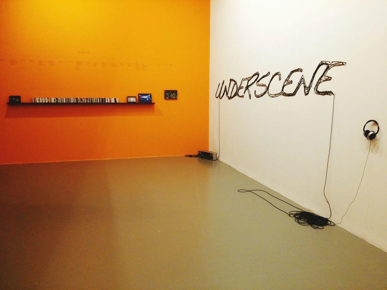 Listening To Music Music Museum Orange OpenEdit Turkey Istanbulmodern Underscene Stereo Room#art