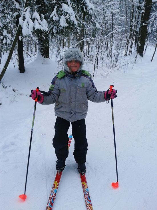 Лес лыжи First Eyeem Photo