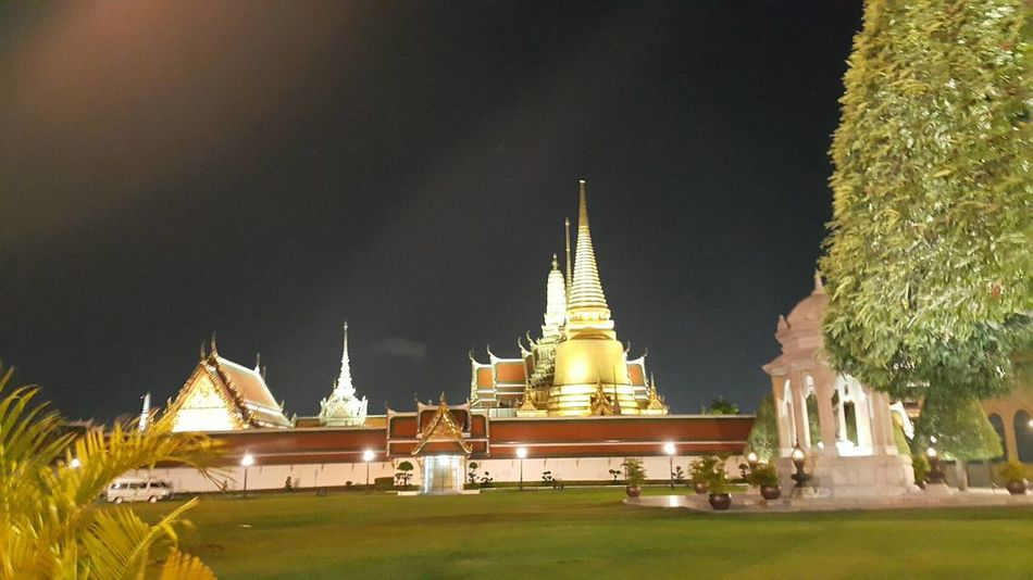 Thailand Rama9 King Night Nightphotography History Outdoors City Bangkok Thailand. Bangkok Grass Architecture Silence Of The Night Thaipeople Love