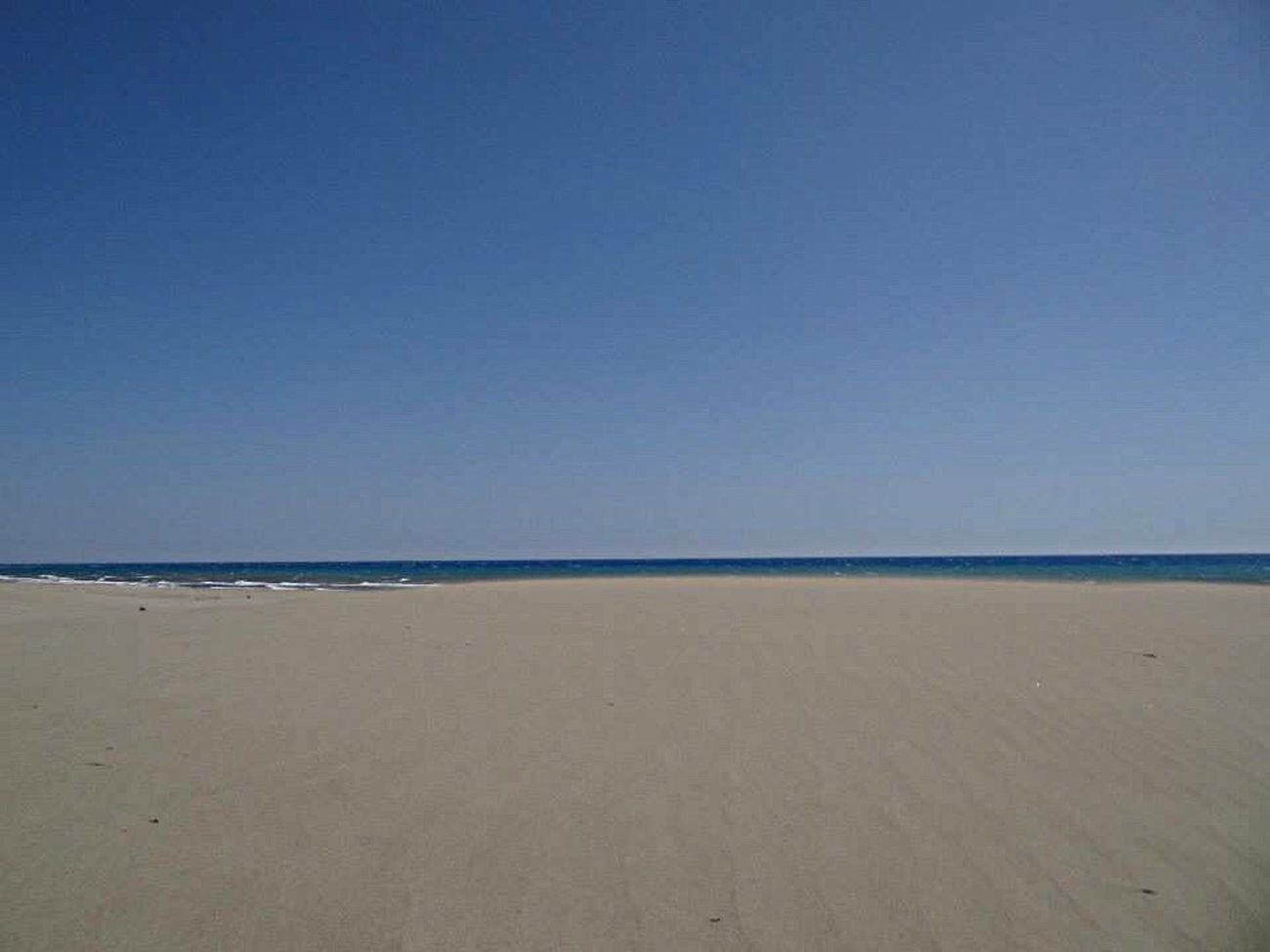 Beach Sand Sea Blue Horizon Over Water Clear Sky Tranquil Scene Scenics Water Non-urban Scene Beauty In Nature Seascape Turkey Patarabeach Patara Calm Sandy Beach Faces Of Summer EyeEm Gallery Lykia Turkeyphotooftheday No People