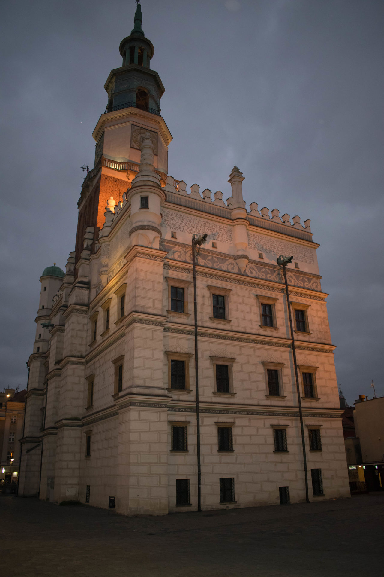 Architecture Architecture Building Exterior Buildings Built Structure Business Finance And Industry Church Churches City Clock Façade Historical Building History Illuminated Landmark Night No People Outdoors Poland Poland Is Beautiful Sky Tower Travel Travel Destinations Windows