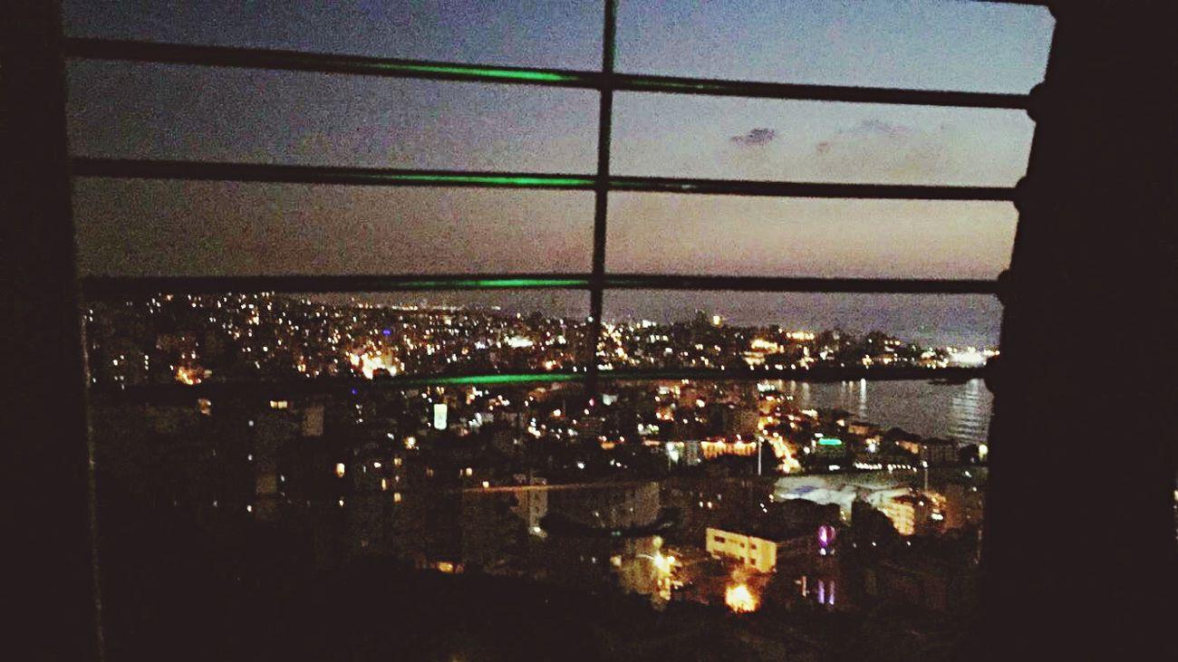 Summer nights going up in the telepherique. Harissa Ourladyoflebanon Lebanon Jounieh City Lights Summer