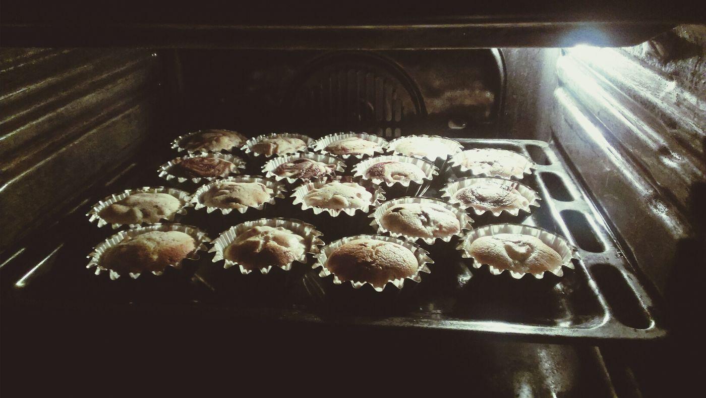 Cupcackes Food Chocolate Pear pea
