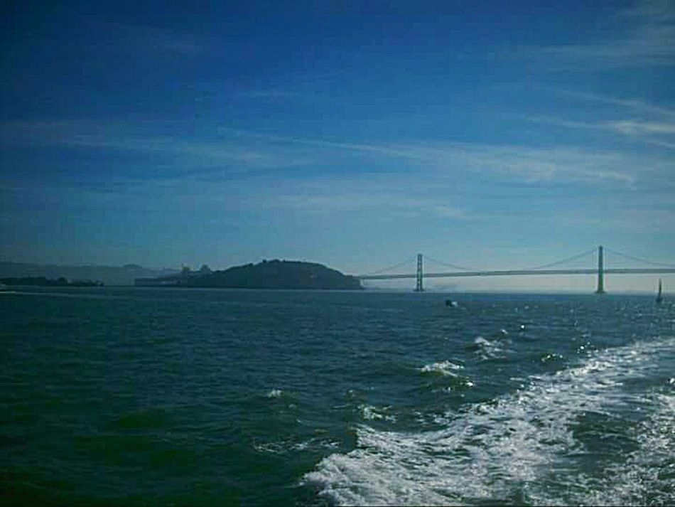 My Photography San Francisco Architecture Taking Photos This Week On Eyeem Tourist Attraction  My Point Of View San Francisco Bay Water Ferry Ride Ferry Views Sight Seeing Original Bay Bridge