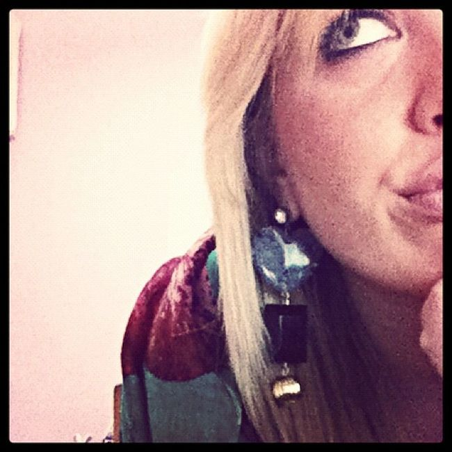 Earrings Orecchini Pensieri Pensiero
