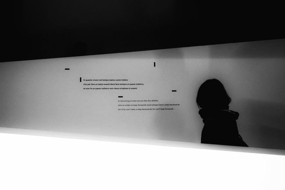 Reflections about life | Umbertoeco Arsenale Biennale Di Venezia 2015 Picturing Individuality Perfect Match Learn & Shoot: Simplicity Getting Inspired People Watching Monochrome Black And White Showcase: November EyeEm Italy |