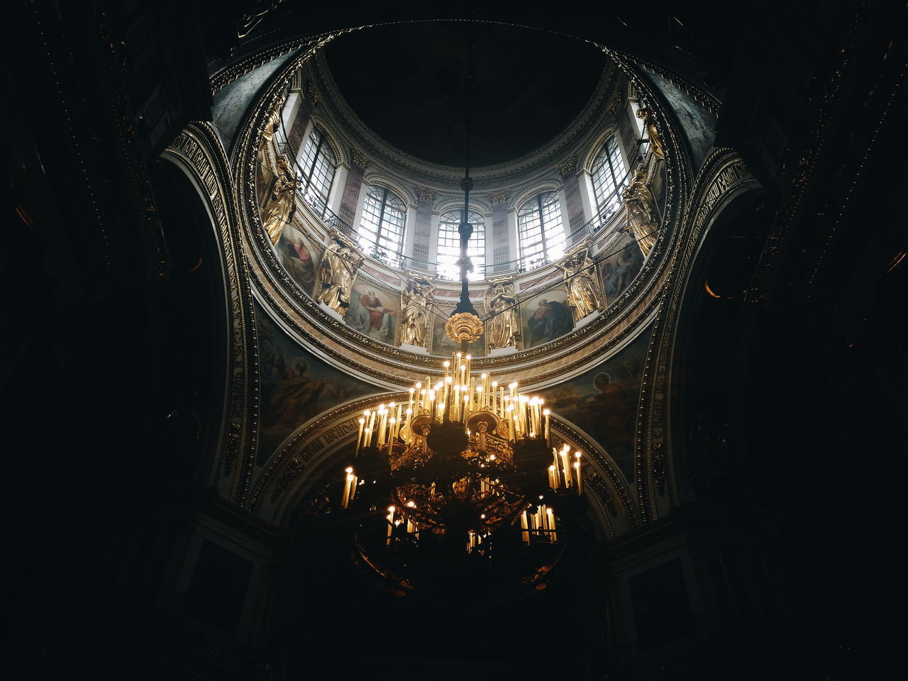 Saint-Petersburg Isaakievskiy Sobor Isaac's Cathedral Russia россия Cathedral Dark Candels First Eyeem Photo Likeforlike Like4like Followme Follow4follow FirstEyeEmPic