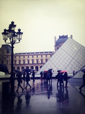 in Heaven at Musée du Louvre by Hayley McCord