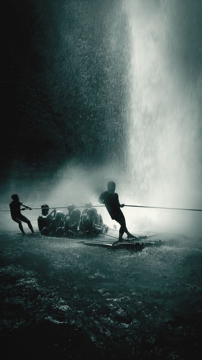 Photographic Memory Escaping Bamboo Rafting OldTransportation Journey Into The Dark First Eyeem Photo Eyeem Philippines