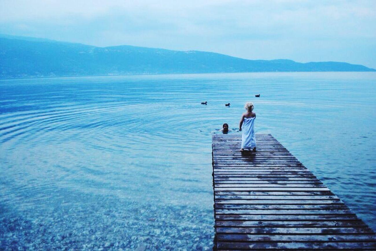Lago Di Garda Sundown Calm