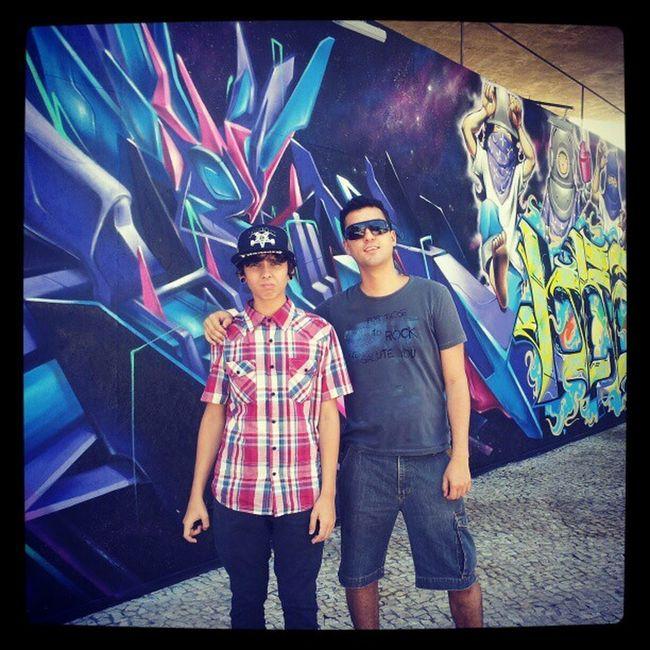 Grafit SP Arte eu e @dinohc