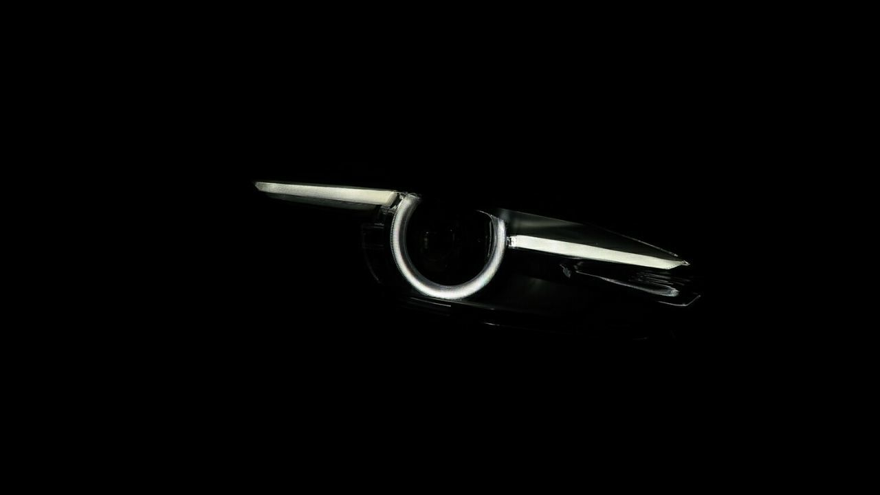 Close-up Black Background Blurred Motion No People Day Mazda MaZda3 マツダ アクセラ Car Head Light Led Headlight Eye Light