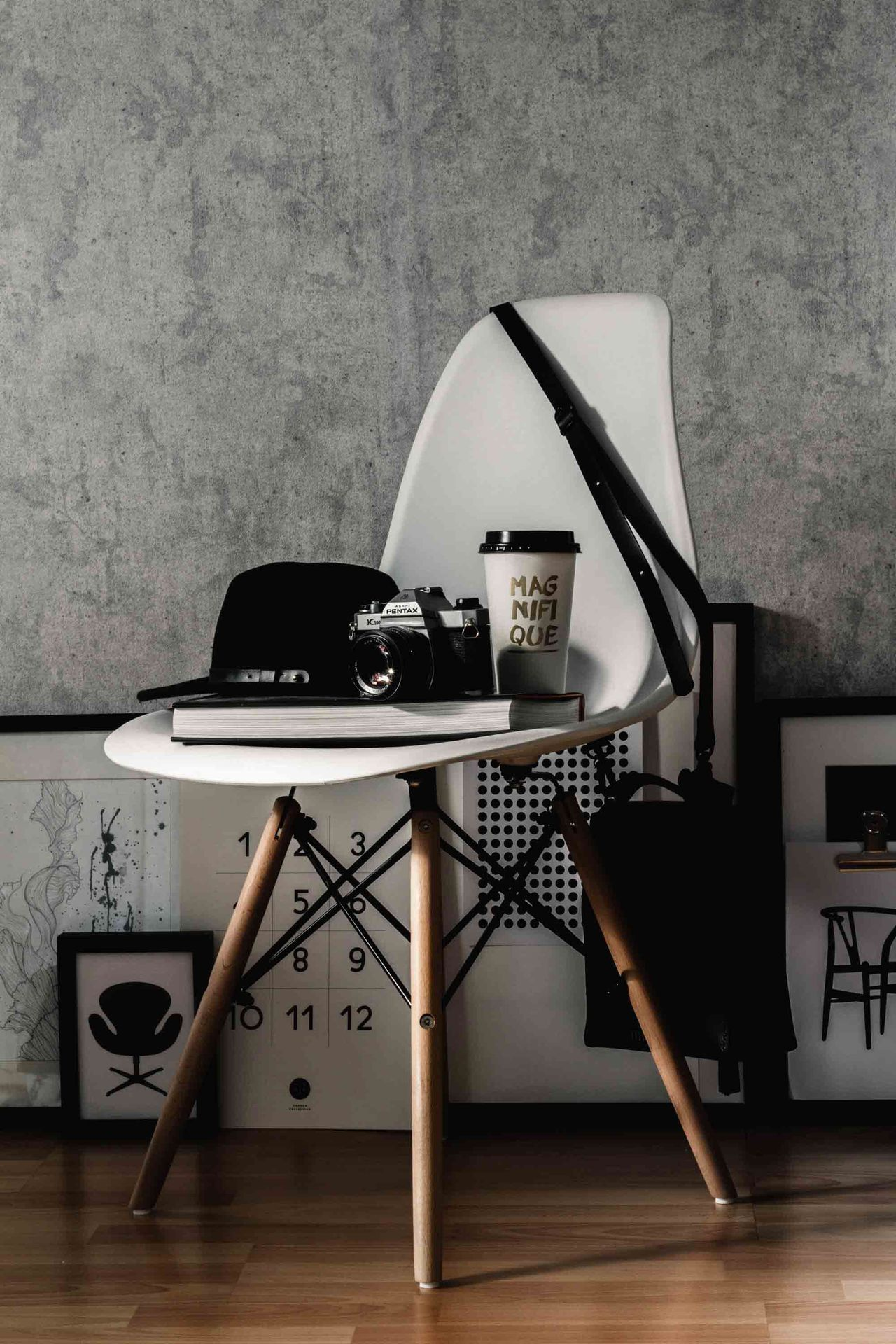 Old-fashioned Retro Styled Desk Table Typewriter Desk Organizer Design Home Home Interior Interior Design