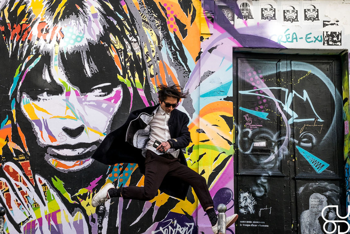 Couleur Couleurs Gainsbourg Gainsbourg's House Jane Birkin Levitation Multi Colored Outdoors Rue Serge Gainsbourg Street Streetphotography Voler